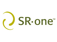 SR • One company logo
